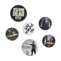 The Walking Dead, 6x Anstecknadel