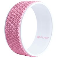 Pure2Improve Yoga-Rad 34 cm Rosa und Weiß