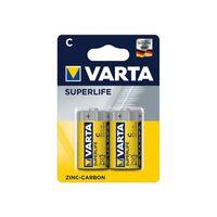 Varta Superlife Batterien C 2 Stück Im Blister