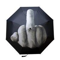 Regenschirm mit einer Haltung