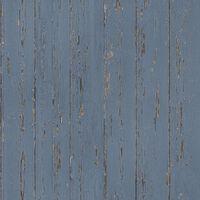 Homestyle Tapete Old Wood Blau