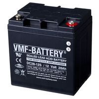 VMF AGM Deep Cycle Batterie 12 V 28 Ah DC28-12S