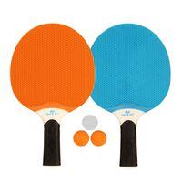 Get & Go Outdoor Tischtennis-Set Blau/Orange/Hellgrau 61UP