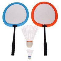 Get & Go Badminton-Set XXL Orange und Blau