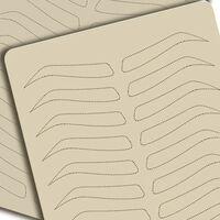 Microblading-Zubehör für das Üben von Augenbrauen - Permanent