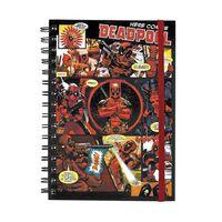A5 Notizbuch - Deadpool