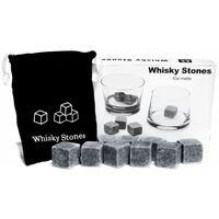 9er Set Whisky-steine Aus Natürlichem Speckstein