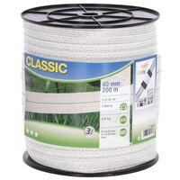 Neutral Weidezaunband Classic 200 m 40 mm Weiß