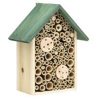 vidaXL Insektenhotels 2 Stk. 23x14x29 cm Massivholz Tanne