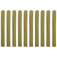 vidaXL Zaunlatten 30 Stk. Imprägniertes Holz 100 cm