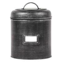 LABEL51 Aufbewahrungsbehälter 21x21x29 cm XXL Antik-Schwarz