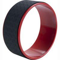 Pure2Improve Yoga Rad 30 cm Schwarz und Rot