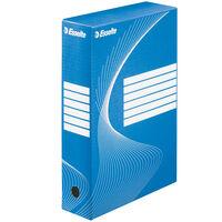 Esselte Archivbox 25 Stk. Blau 80 mm