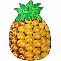 Mikrofaser Strandtuch, Pineapple
