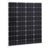 vidaXL Solarmodul 80 W Monokristallin Aluminium und Sicherheitsglas
