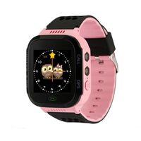 Q528 Smartwatch Für Kinder - Hellrosa