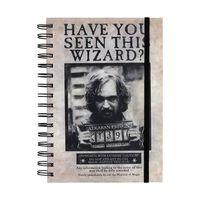 Harry Potter, Notizblock A5 - Sirius Black