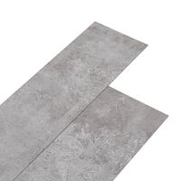vidaXL PVC-Laminat-Dielen 5,26 m² 2 mm Erdtöne Grau