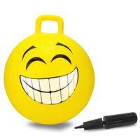 Jamara Hüpfball Smile 450 mm Gelb