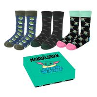 The Mandalorian, 3 Paar Socken - Baby Yoda