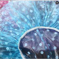 Elastische wasserdichte Einweg-Duschhaube - wiederverwendbare