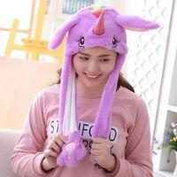 Süßes Kaninchen Cartoon Cap Hut + lange Ohren