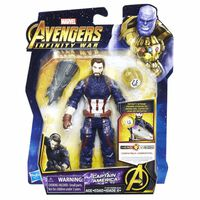 Avengers Infinity War, Captain America mit Infinity Stone