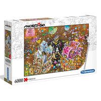 Clementoni Puzzle Mordillo Der Kuss 6000 Stk.