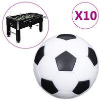 vidaXL Tischfußball-Bälle 10 Stk. 32 mm ABS