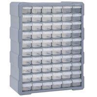 vidaXL Multi-Schubladen-Organizer mit 60 Schubladen 38x16x47,5 cm