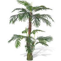 vidaXL Künstliche Pflanze Cycas-Palme 150 cm
