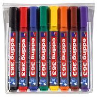 edding Whiteboard-Marker 8 Stk. Mehrfarbig 363