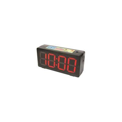 Perel Uhr mit Timer Schwarz