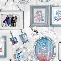Kids at Home Tapete Wallpaper Frozen Frames Grau