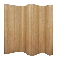 vidaXL Raumteiler Bambus Natur 250x165 cm