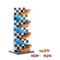 Autorampe mit 3x Spielzeugautos - Wimai