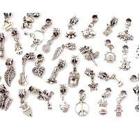 20 Stück Silberne Geflochtene Tibetische