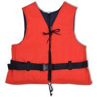 vidaXL Schwimmweste 50 N 30-50 kg Rot