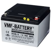 VMF AGM Deep Cycle Batterie 12 V 28 Ah DC28-12