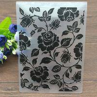 Rosen Kunststoff Prägeordner Scrapbooking Papier Handwerk / Karte