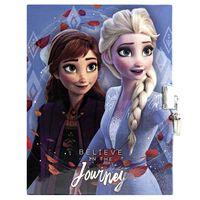 Frozen 2, Tagebuch mit Schloss - Believe in the Journey