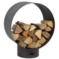 Esschert Design Brennholzlager Rund FF282