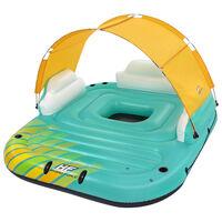 Bestway Aufblasbare Badeinsel für 5 Personen Sunny Lounge 291x265x83cm