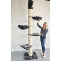 Rhr Quality Maine Coon Tower Kratzbaum - Anthrazit - 60 X 60 X 265 Cm