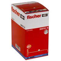 Fischer 50-tlg. Kippdübel-Set Nylon DUOTEC 10