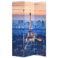 vidaXL Raumteiler klappbar 120 x 170 cm Paris bei Nacht