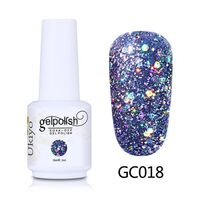Nagelkunst Glitter Gel-Nagellack Gel-Lack Diamantlack Vernis Semi