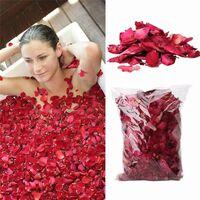 Getrocknete Rose, Packung mit natürlichen Blütenblättern für Bad,
