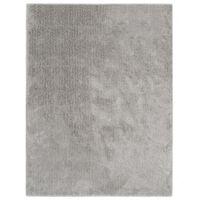 vidaXL Hochflor-Teppich 160 x 230 cm Grau