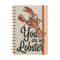 Friends, Notizbuch - Lobster